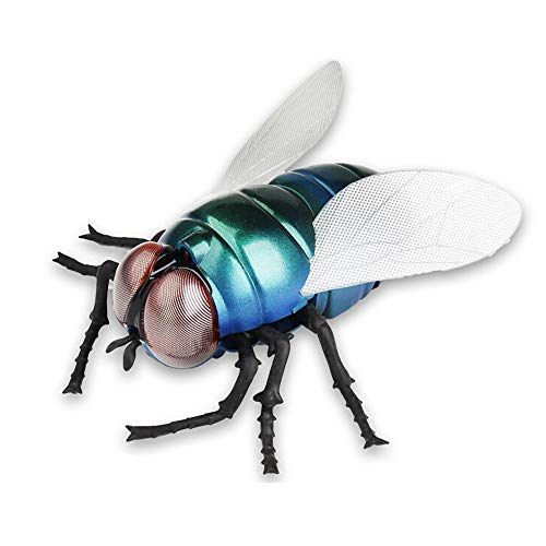 LCLrute_Jouets RC-Plastic Infrared Remote Control Animal Fly Prank Insects Joke Scary Bug Toys (Multicolore)