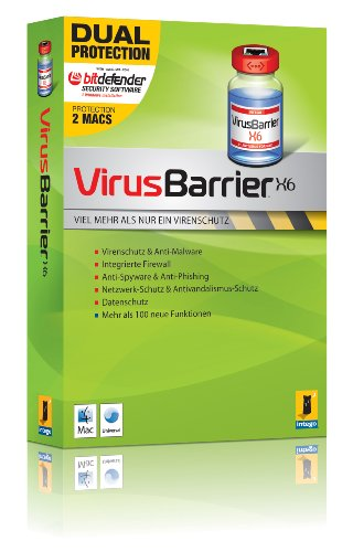 VirusBarrier X6 Mac Dual Protection
