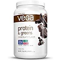 Vega Protein and Greens MD Powder, Chocolate, 21.8 Ounce by Vega - HPC