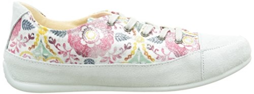 Desigual - Happy 9, Ballerine Donna Rosa (Rose (3022 Fuchsia Rose))