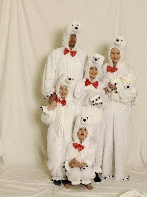 Polar Bear Costume Halloween - Dans l'ensemble Polar Bear Plush