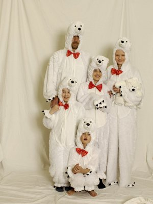 Generique - Plüsch-Eisbär-Kostüm Erwachsene ()