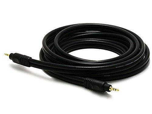 Monoprice 5578 3m 3.5mm TRS Schwarz Audio-Kabel -