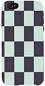 Snoogg chequered pattern design 998 Case Cover For Apple Iphone 6 iphone 6