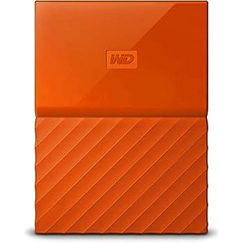 WD My Passport - Disco Duro portátil de 2 TB y Software de Copia de Seguridad