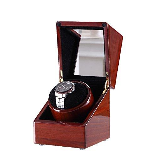 [100%Pure Handgefertigt] Love Nest Uhrenbeweger mit Ruhig japanischen Mabuchi Motor 80A
