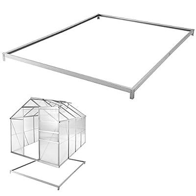 TecTake Aluminium Gewächshaus Gartengewächshaus Treibhaus - diverse Modelle - von TecTake - Du und dein Garten