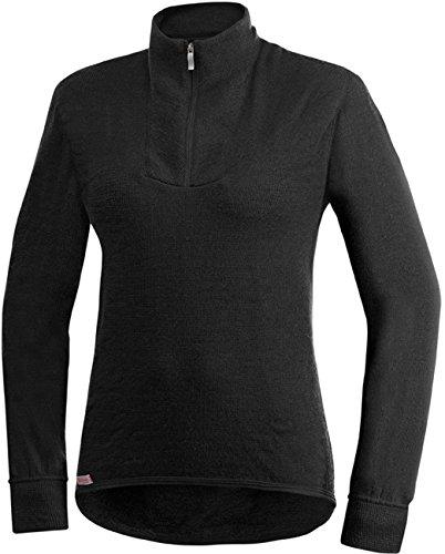 Woolpower 200 Turtleneck Long Sleeve Zipp Shirt Men - Unterwäsche, schwarz - L