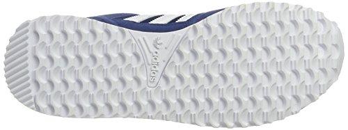 adidas ZX 700, Scarpe da Ginnastica Basse Unisex-Adulto Blu (Mystery Blue/footwear White/mystery Blue)