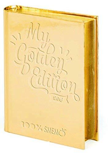 Smemoranda gold diario scuola smemo 16 mesi 11x15 cm special edition 2019 oro - scuola 2018-2019