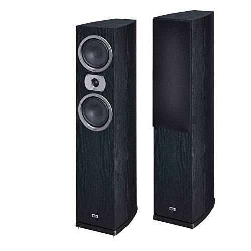 Heco Victa Prime 502 | 2 1/2-Wege Heimkino- und Stereo-Standlautsprecher | 1 Stück - schwarz