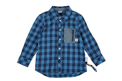 Sigikid Jungen Hemd, Mini, Blau (Navy Blazer 294), 128