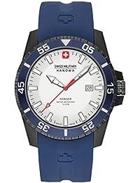 Swiss Military Hanowa 6-4253.27.001.03 - Reloj , correa de nailon color azul