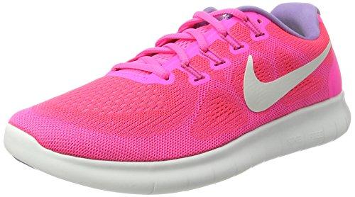 Nike Damen Free Rn 2017 Laufschuhe, Pink (Racer Pink/Pink Blast/Bright Mango/Off White), 42 EU