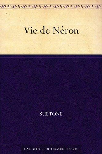 Couverture du livre Vie de Néron