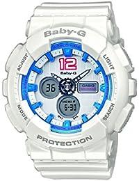 Casio Baby-G – Damen-Armbanduhr mit Analog/Digital-Display und Resin-Armband – BA-120-7BER