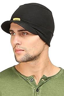 82ef2ec06a2 FabSeasons Cotton Skull Cap (Black)