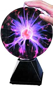 Plasmakugel Höhe 30cm - Plasmastrahlung Mittig