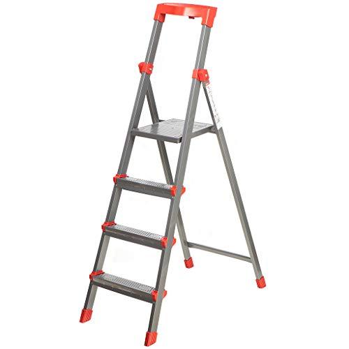 NIKA HAUSHALT, Stehleiter, 3 Stufen / 4 Stufen (4 Stufen)