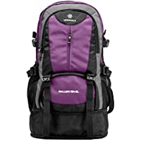 Vanwalk Lightweight and versatile Travel Backpack for Notebooks up to 15 inches 30L+5L(purple)