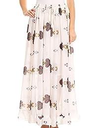 Sakkas Blasia Maxi Folk Peasant Dance Flowy Light Long Skirt Gorgeous
