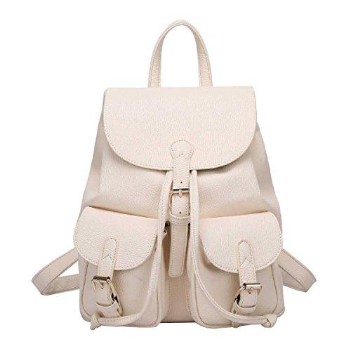 Frauen Reisetasche Art Und Weise Schulterbeutel Einfach White