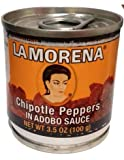La Morena Chipotle Peppers in Adobo-Sauce 100g x 10