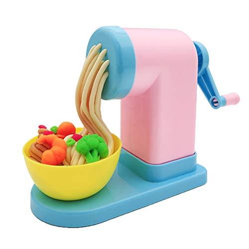 YeahiBaby Knetwerkzeug Nudelmaschine Knete Spielzeug Teig Platilin Zubehör Küchenspielzeug (Zufällige Farbe)