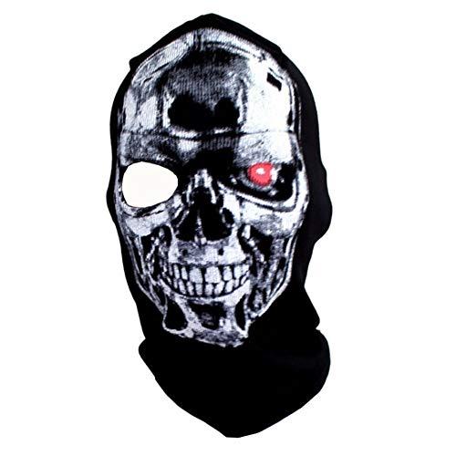 ke 3D gedruckt Schädel Muster Maske tragbare Masken festliche Party beängstigend Requisiten ()