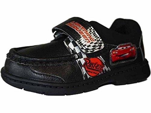 Jungen Disney Schuhe mit Lightening McQueen Design Klettverschluss Schwarz