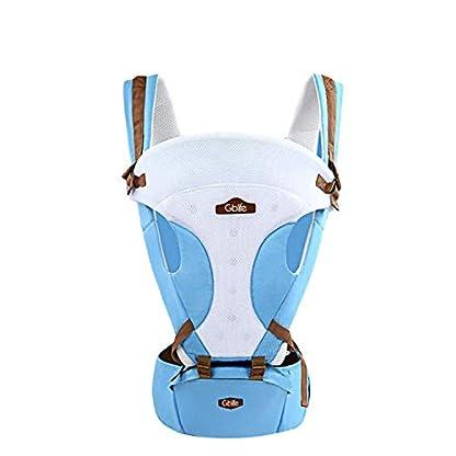 416qw6J LkL. SS416  - GBlife Mochila Portabebé 5 en 1 de Diseño Ergonómico Ajustable Portadores Marsupios para Recién Nacidos/Bebé