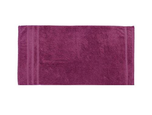Irya Coresoft Classy Duschtuch, Baumwolle, fuchsia, 70 x 130 cm