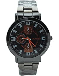 Polo House USA Analog Black Dial Men's Watch(New)