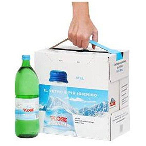 12 Bottiglie ACQUA PLOSE NATURALE EASYBOX 1/1 VETRO A PERDERE