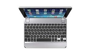 Clavier Bluetooth Brydge 9.7 AZERTY pour iPad 6e génération (2018), iPad 5e génération (2017), iPad 9,7 pouces, iPad Air 1 et Air 2 (gris spatial)