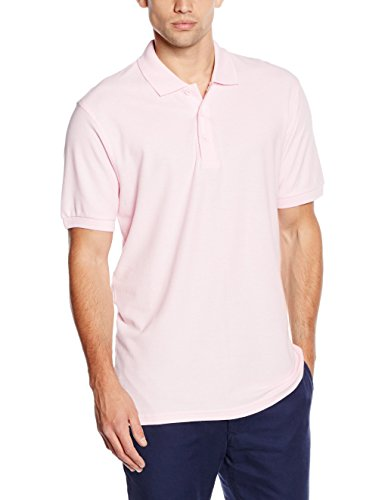 Fruit of the Loom Herren Poloshirt Pink (Light Pink)