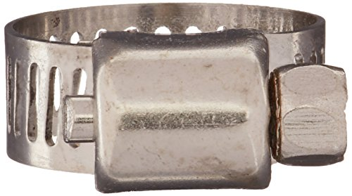 uxcell A16010500ux2160 13-19 mm Range Bande en acier inoxydable WORM dur Colliers de serrage 100 pcs,