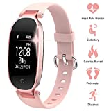 Fitness Tracker for Women Heart Rate Monitors Step Counter Activity Trackers IP67 Waterproof