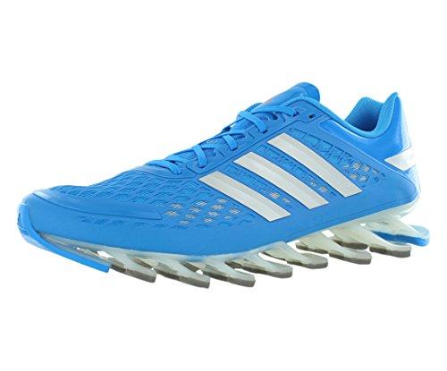 Adidas Mens Springblade Unità Scarpe da corsa - Running Bianco / nero / bianco (6.5) Solar Blue/Metallic Silver/Black