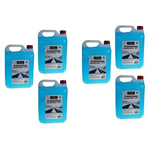 Preisvergleich Produktbild Auto Scheibenfrostschutz -20°C Enteiser Auto Frostschutz Scheibenreiniger (30 Liter)