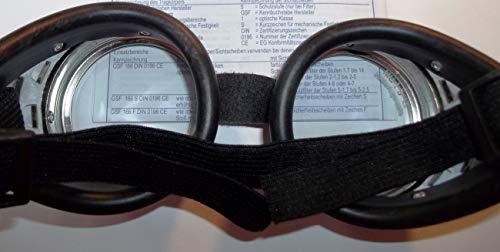 Schraubringbrille mit klaren -