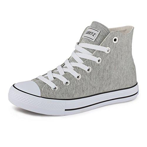 best-boots Donna Uomo scarpe da ginnastica Grigio