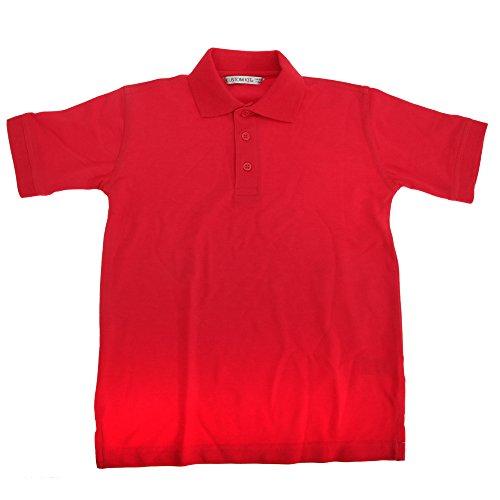 Kustom Kit Klassisches Kinder Polo Shirt Weiß