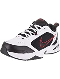 Nike Air Monarch IV Mens White X Wide Leather Sneakers Shoes Size UK 9.5