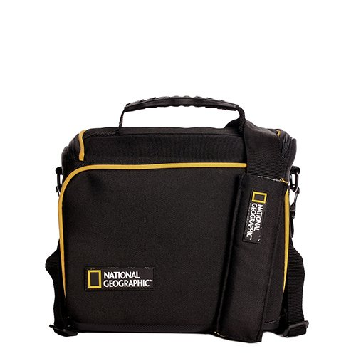 National Geographic - Tracolla Con Logo Urban Camera Nero 23X20X12 Cm