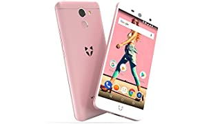 "Wileyfox Swift 2 16GB with 2GB RAM 5.0"" HD (Dual SIM 4G) SIM-Free Smartphone Android Oreo 8.1 - Rose"