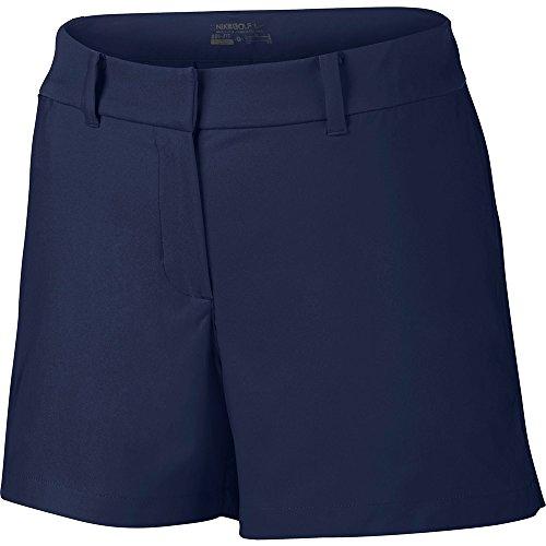 Nike Short court Tournament Pantalon femme azul marino (midnight navy / midnight navy)