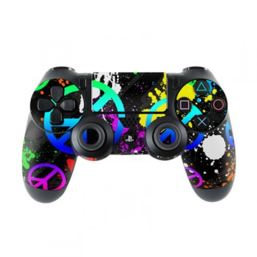 Skins4u Sony Playstation 4 Skin PS4 Controller Skins Design Sticker Aufkleber styling Set auch für Slim & Pro - Unity