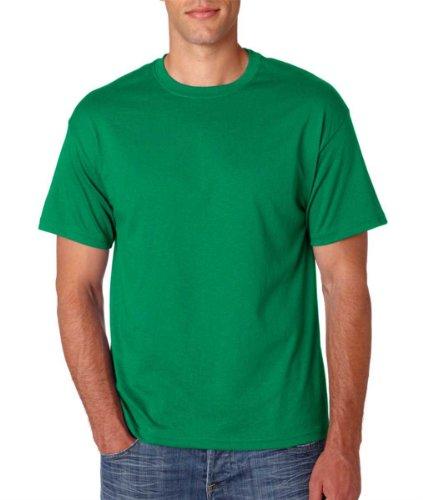 Mens T EcoSmart® ComfortBlend® Shirt Crewneck Hanes Green Kelly TdqgwaxP8