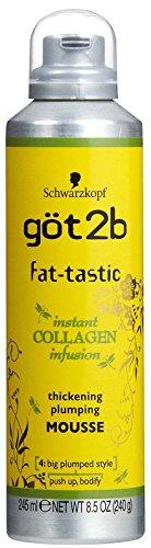 GOT 2B Mousse épaississante Fat-Tastic - 245 ml